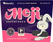 Meji Adventures - a Font Collection by KOBU Foundry