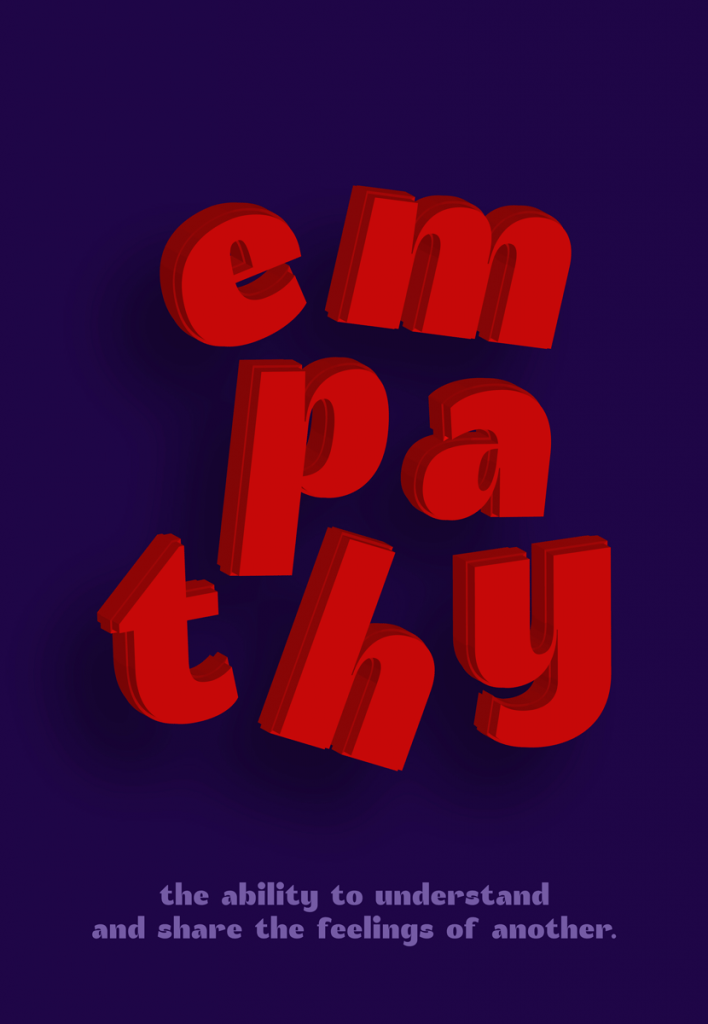 """Empathy"" Poster with Akuto Display"
